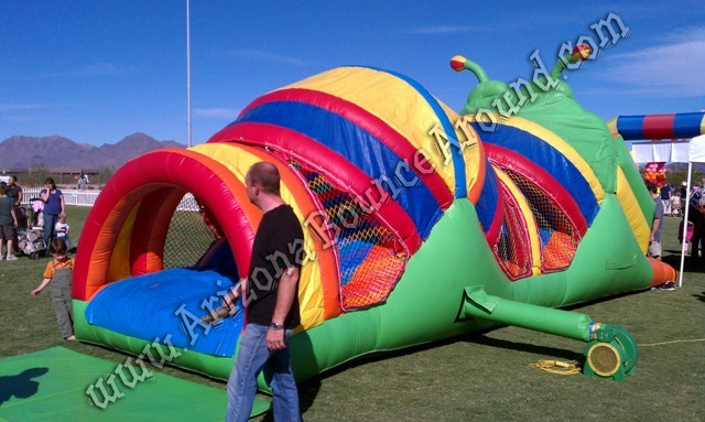 obstacle course for kids parties in Phoenix Scottsdale Arizona