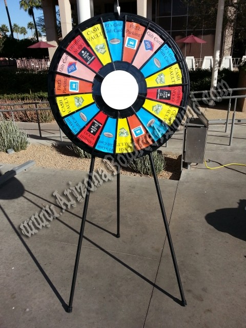 Prize Wheel Rentals In Phoenix Or Scottsdale Arizona Rent A
