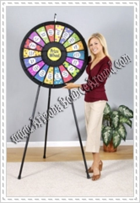 Prize Wheel rentals in Phoenix or Scottsdale, Arizona - Rent