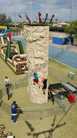 rock wall rental companies in Arizona