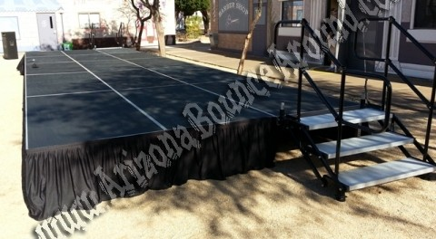 stage rental Tucson AZ, Rent a stage in Tuscon Arizona