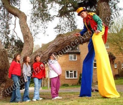 stilt walkers for hire in Phoenix Arizona