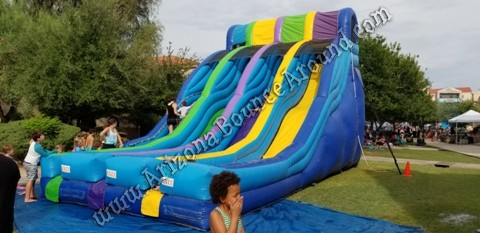 water slide rental companies in Tempe Arizona
