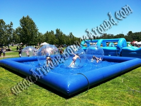 Water walking ball rental Phoenix, Arizona