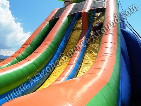 where can i rent a 24 foot dual lane water slide in Arizona
