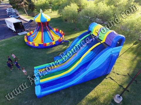 where can i rent a 3 lane water slide in Phoenix Arizona