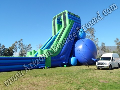 Inflatable Water Slide big inflatable water slides for festivals and events - huge