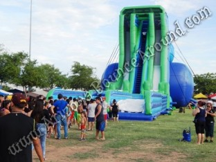 Inflatable party rentals kids entertainment event for Rent fishing gear near me