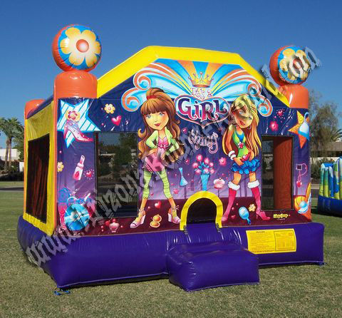 15X15 Girl Thing Bounce House Rental