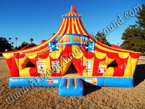 19' x 19' Circus World Playland