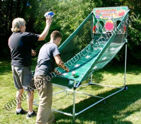 2 Minute Drill Electronic Football Toss Game Rental