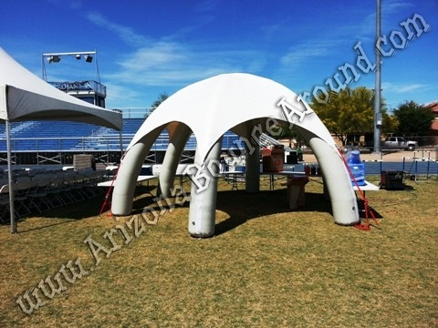 Rent a dome tent for food service concession stand ticket booth or for shade. This inflatable dome tent will look great at your party or event & 20 X 20 Tent rentals Phoenix Scottsdale AZ - Arizona Tent Rentals