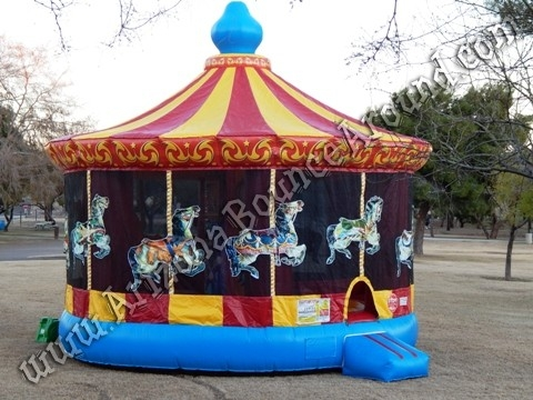 20' Carousel Bounce House Rental