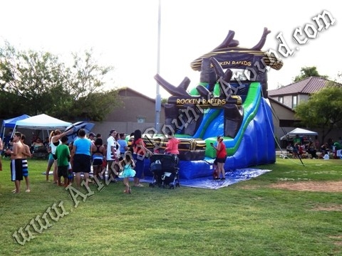 22' Rockin Rapids Water Slide Rental