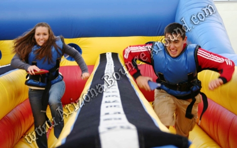 3 Lane Bungee Run Rental
