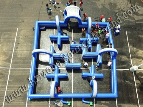 35 X 35 Inflatable Water Tag Maze