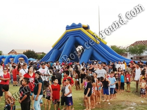 40' Hippo Water Slide Rental
