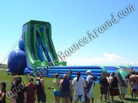 Big Inflatable Water Slides For Festivals And Events