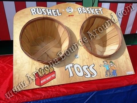 Basket Toss Carnival Game Rental