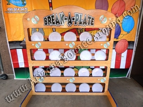 Break A Plate Carnival Game Rental - 20 Plates