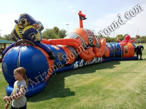 Buccaneers Revenge Crawl Thru Obstacle Course