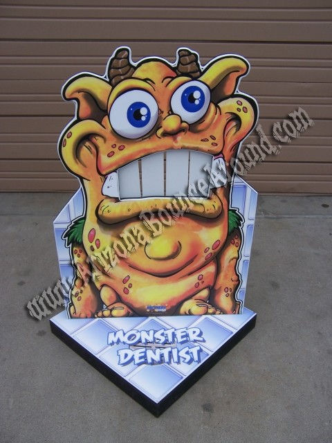 Knock My Teeth Out Carnival Game Rental