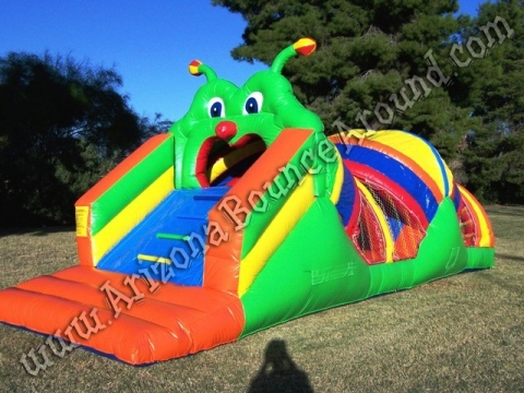 Caterpillar Mini Obstacle Course Rental