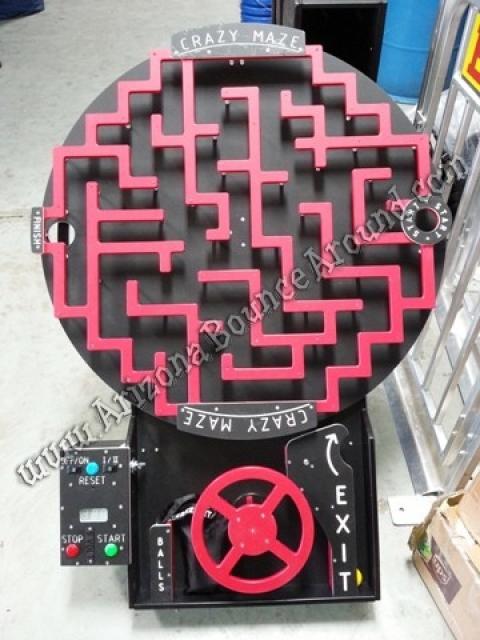 Crazy Maze Driving Game
