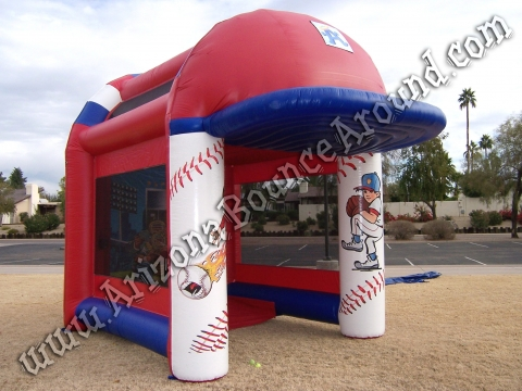 Deluxe Inflatable Speed Cage with Digital Radar Display