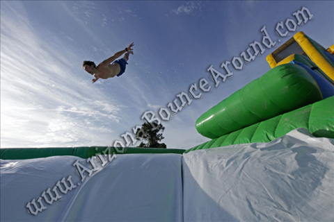 Drop Kick Water Slide Rental