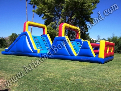 Extreme Obstacle Course Rental