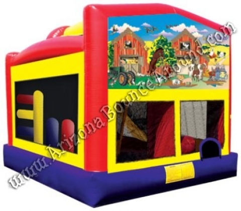 Farm Animals Bounce House Rental