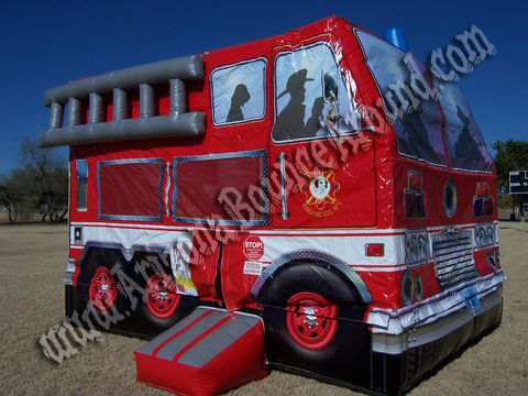 Fire Rescue Bounce House Rental Fire Truck Parties in Phoenix