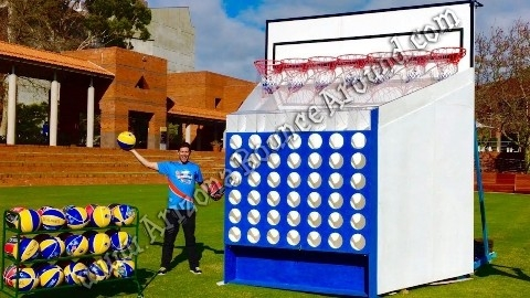 giant basketball connect 4 game rental phoenix scottsdale tempe
