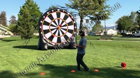 Foot Darts Game Rental - Giant Inflatable Dart Board Rentals