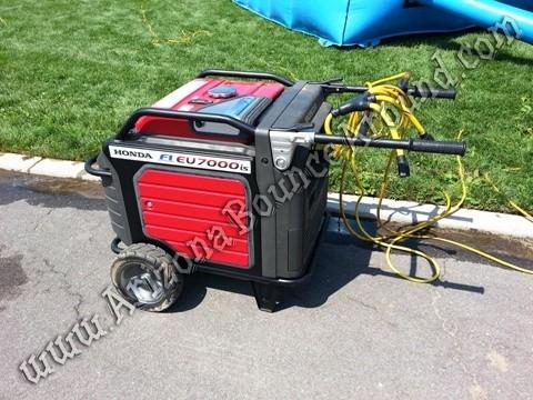 Honda 7000 watt generator rental