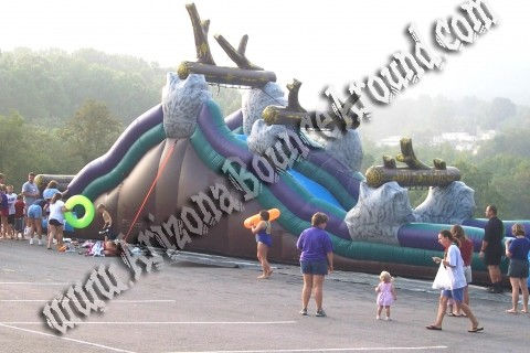 21' Tall Wild Rapids Water Slide Rental