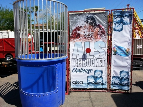 Corporate Branded - Themed Dunk Tank Rentals