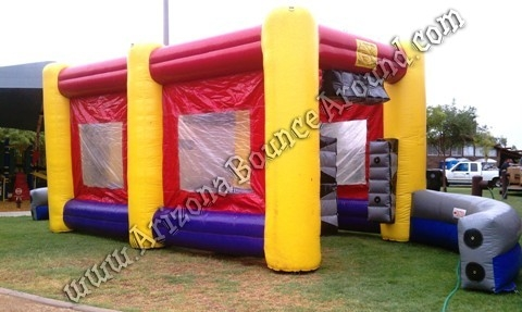 Inflatable Car Wash Misting Tent Rental