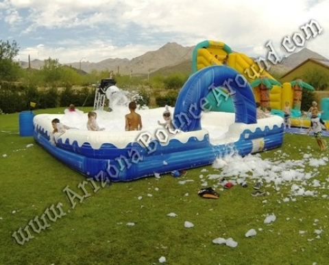 Inflatable Foam Pit Rental