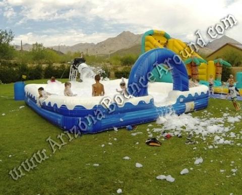 Inflatable Foam Pit Rental Foam Dance Parties Phoenix Scottsdale