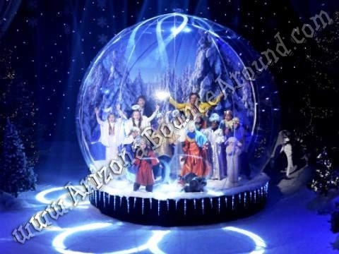 Inflatable Human Snow Globe Rental