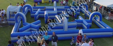 Inflatable Laser Tag Maze Rental