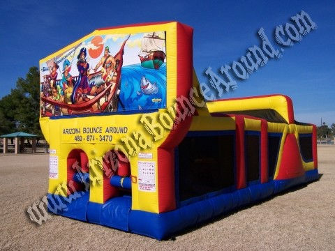 30' CYT Pirate Obstacle Course Rental