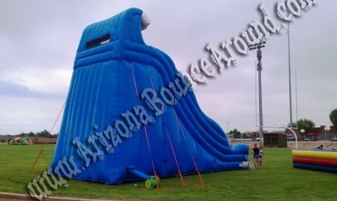 27' Tidal Wave Inflatable Slide Rental