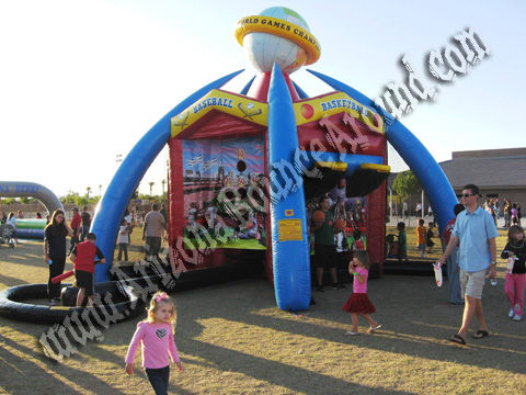 5 Station Sports Carnival game rental