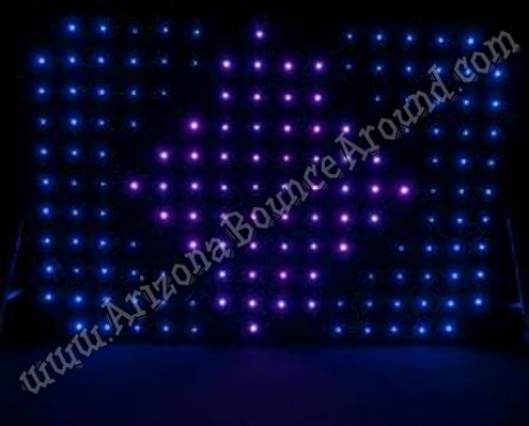 LED DJ Backdrop Rental