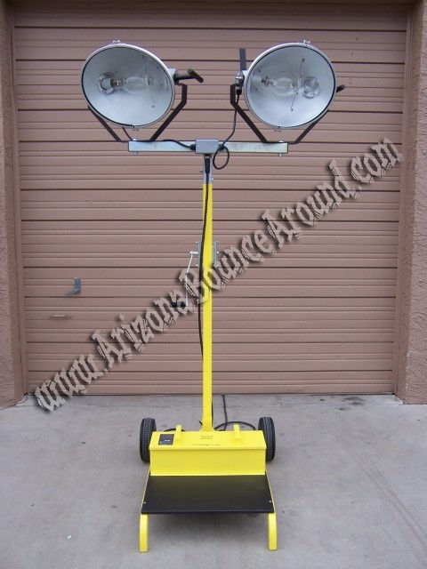 Light tower rental portable event lighting phoenix scottsdale 2000 watt duel head metal halide light tower rental aloadofball Gallery