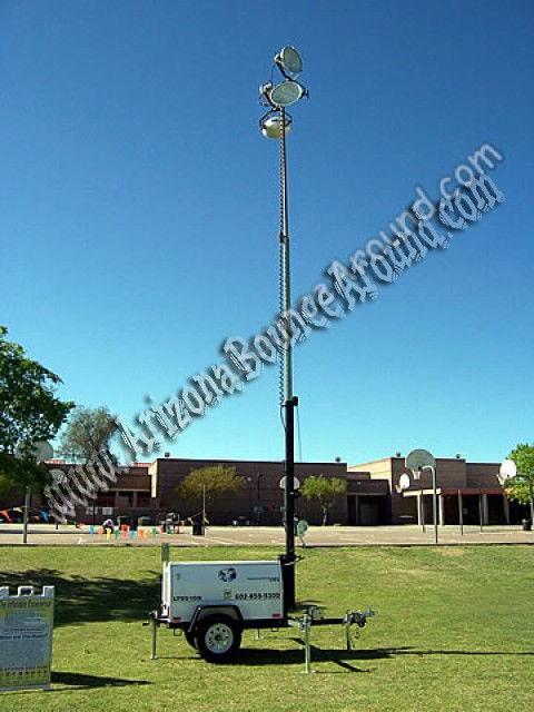 Light tower rentals in phoenix arizona rent light towers and we rent light towers for parties and events in arizona perfect for school carnivals festivals and night time events our powered light tower rental price aloadofball