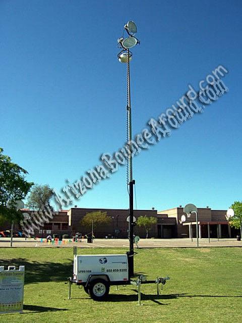 4,000 Watt Self Powered Light Tower Rental